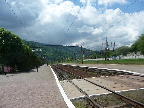 Железнодорожная станция Сколе