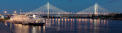 ponte Grande Obukhovsky san pietroburgo