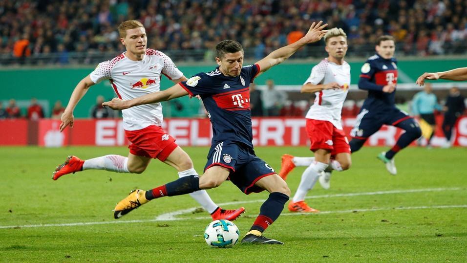 Bayern đang nắm được lợi thế sau chiến thắng trước RB Leipzig