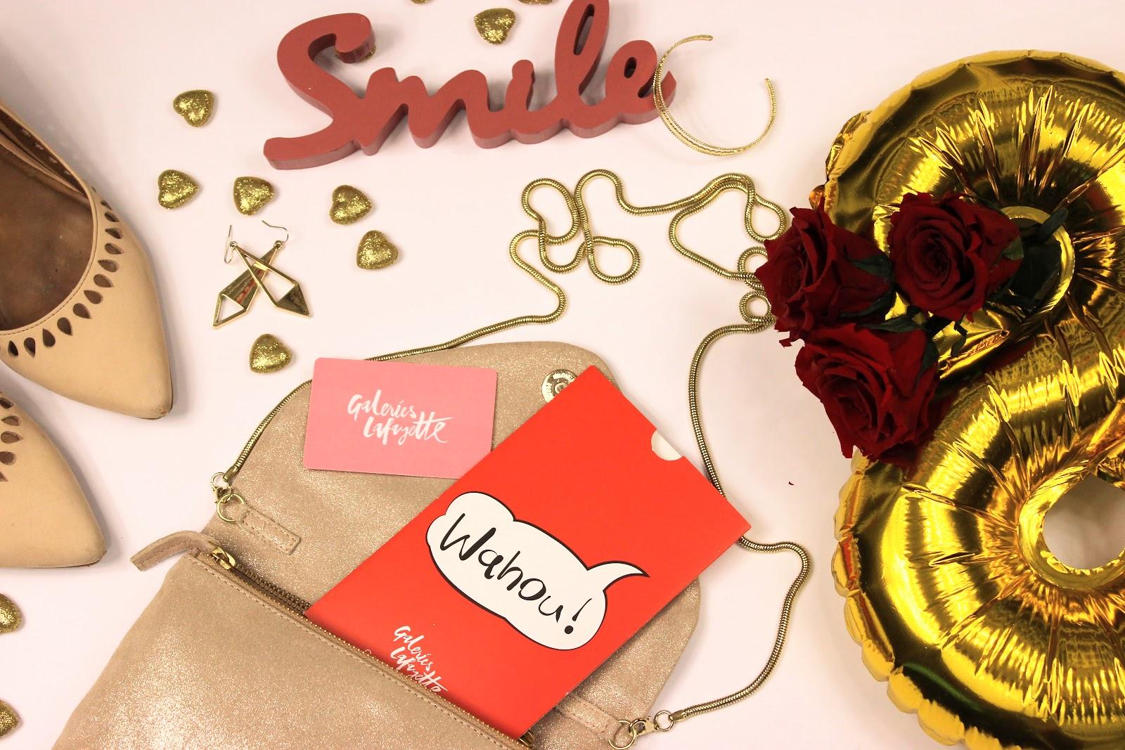 Concours, blog anniversaire, les petites bulles de ma vie, galeries lafayette