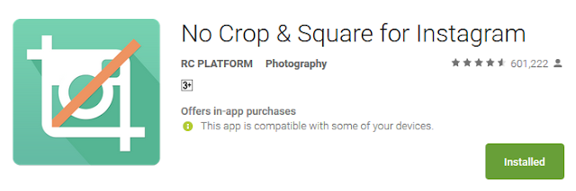 Best No Crop Apps for Instagram and Whatsapp 2019: No Crop & Square for Instagram: eAskme