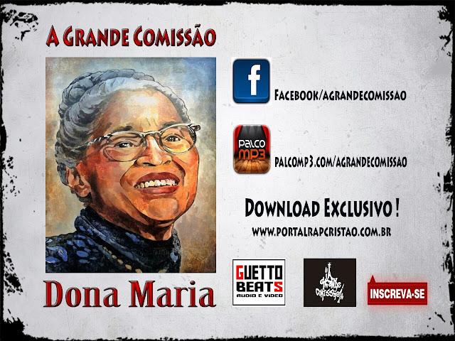 """A Grande Comissão lança a musica """"Dona Maria"""""""