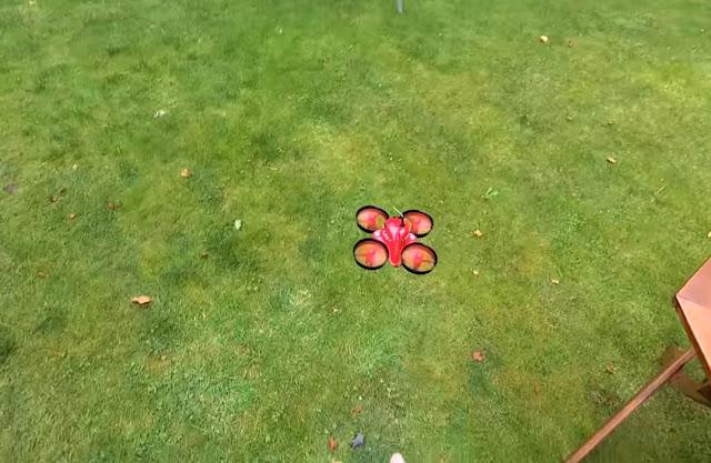 Review Micro Drone Eachine E013 Burung Plastik Yang Lincah