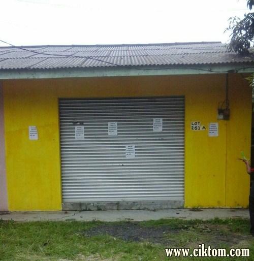 Kedai Untuk Disewa Berdekatan Petron Rusila, Marang, Terengganu