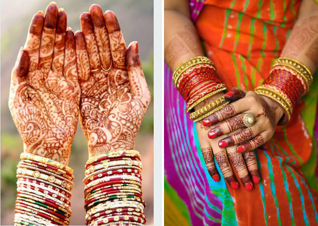 Punjabi Mehndi Designs for Hands