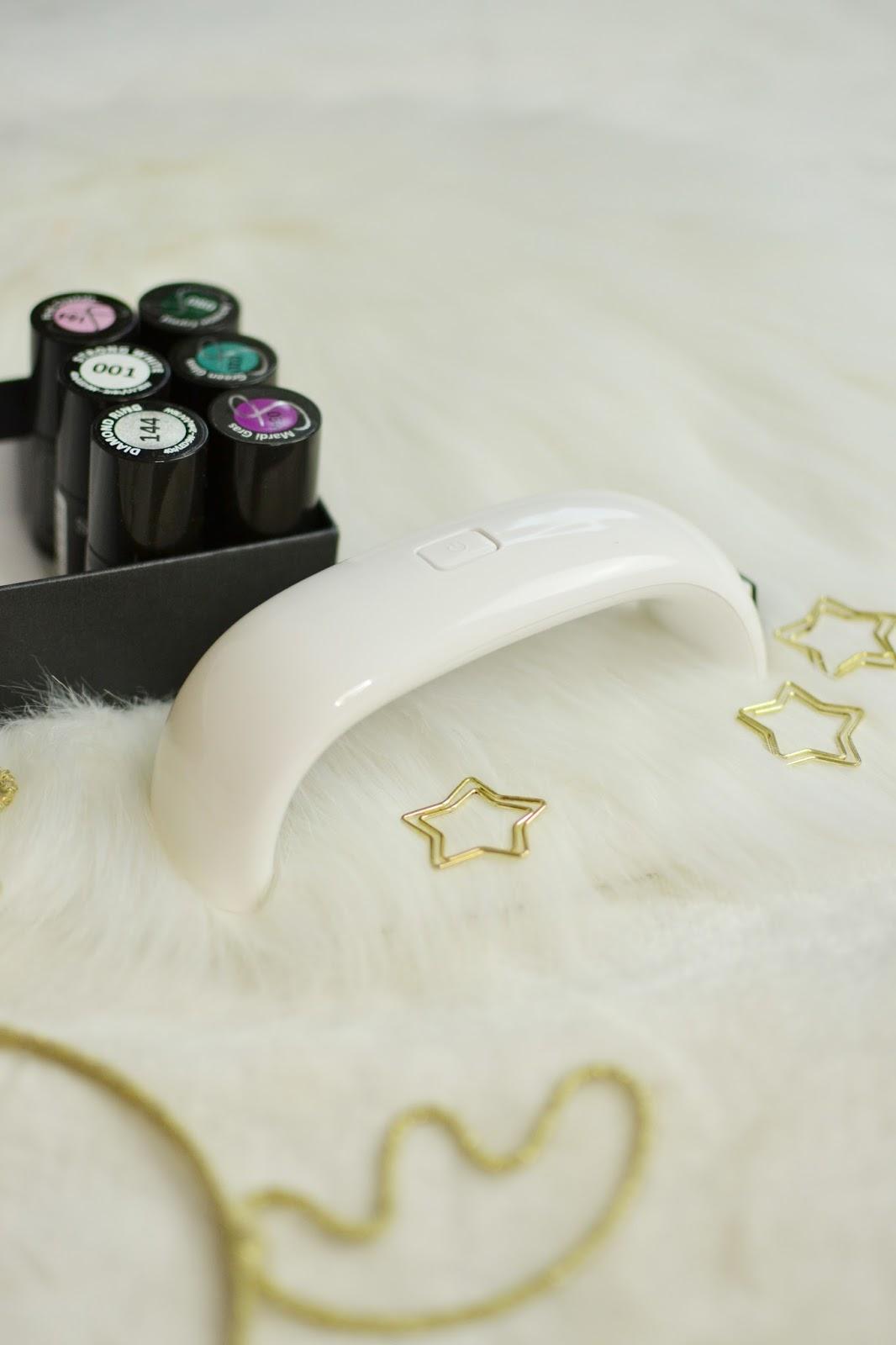 LAMPA LED 9W manicure hybrydowy hybrydy