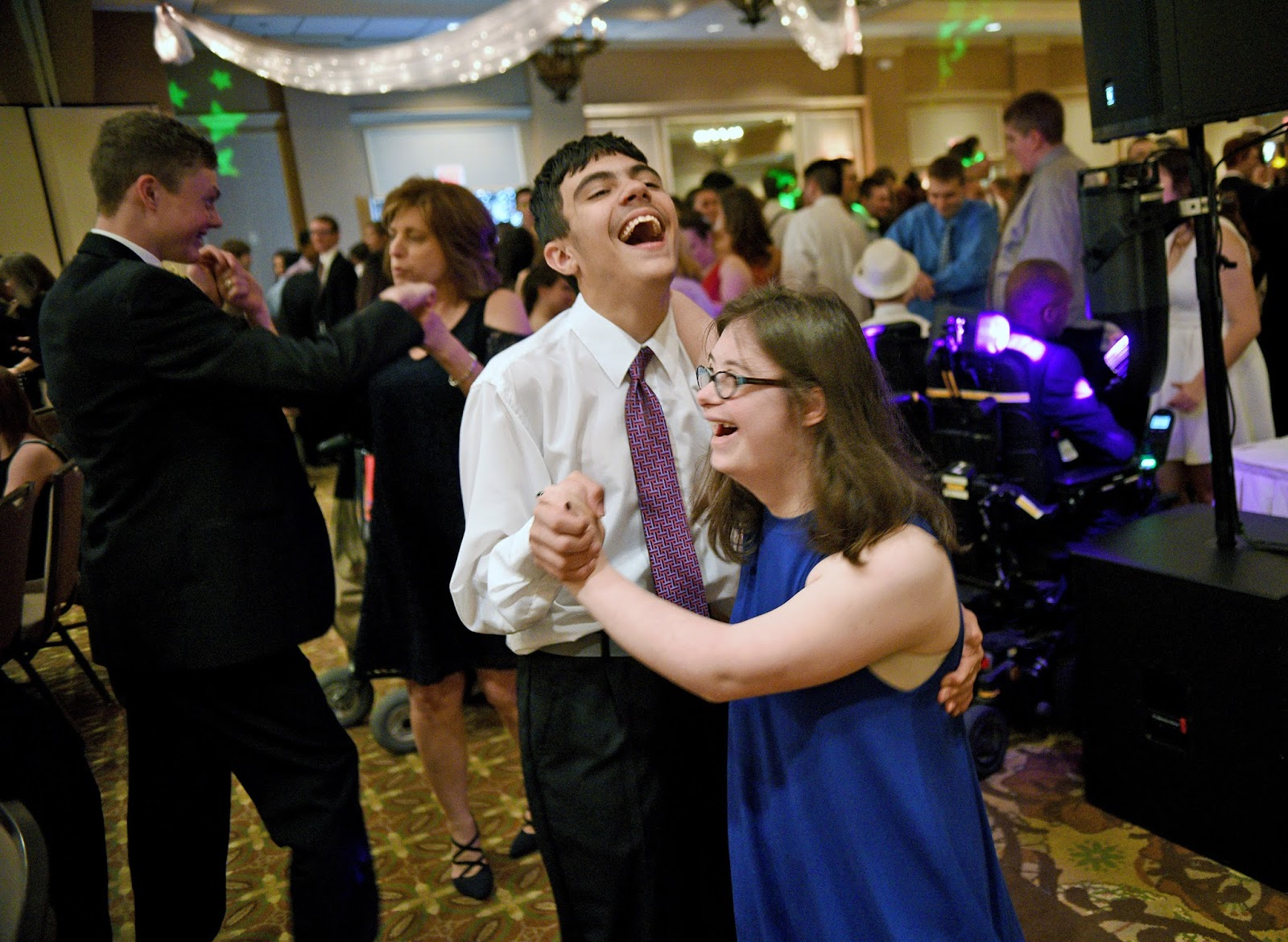 Hundreds hit the dance floor at life skills prom in Camp ...  Life Skills Prom