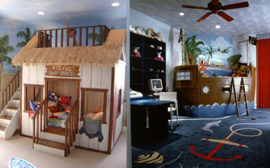cool car themed bedroom children idea | Best 27 Cool Kids Bedroom Theme Ideas - Modern and Cool ...