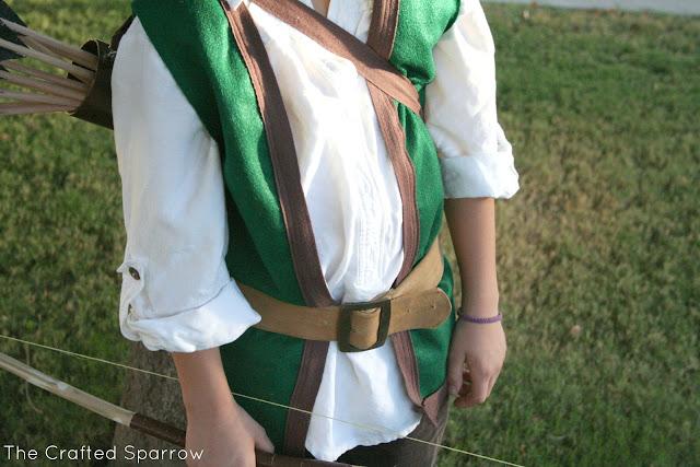 DIY Robin Hood Costume