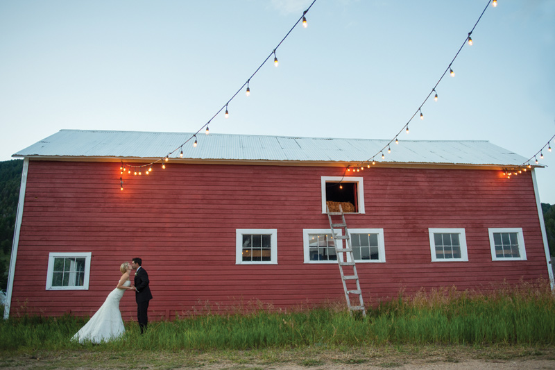 Barn / Montana Wedding / Amelia Anne Photography
