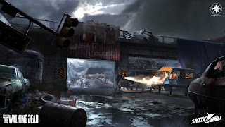 Overkill's The Walking Dead PS3 Wallpaper