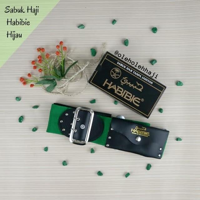 Sabuk Haji Habibie Hijau