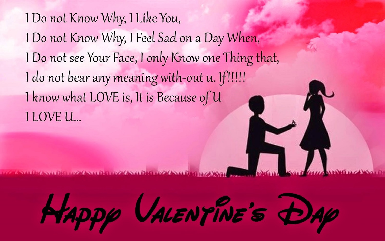 Quote Of The Day Love Advance** Happy Valentines Day Wishes Sms Messages Quotes  Happy