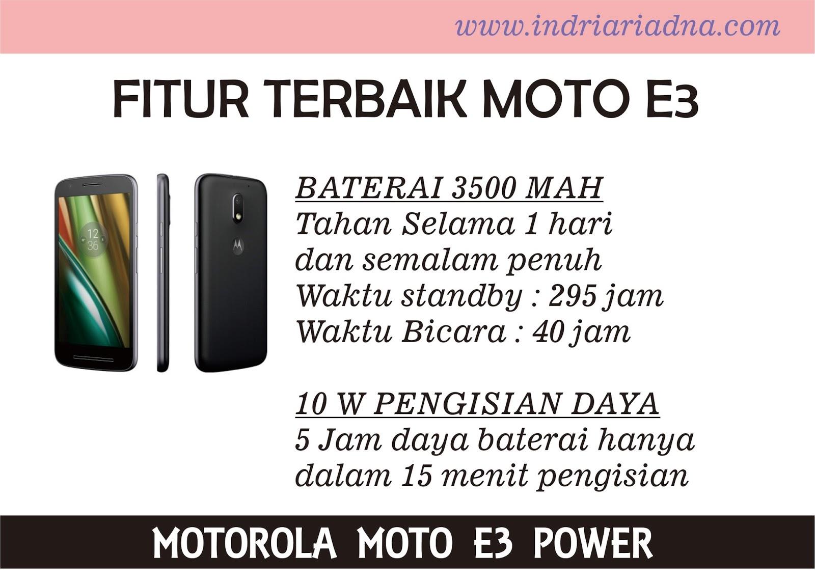 Baterai tahan lama dan pengisian baterai cepat