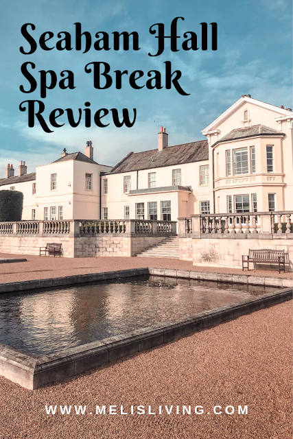 Seaham Hall Spa Hotel Pinterest graphic