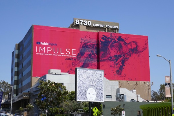 Giant Impulse YouTube Red series launch billboard