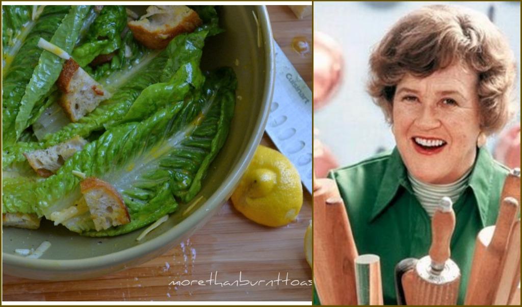 Caesar Salad Dressing Recipe Julia Child