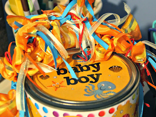BABY BOY ALTERED PAINT CAN