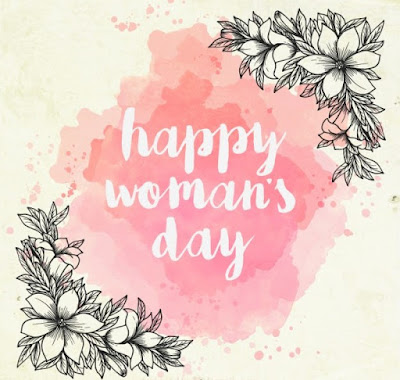 Happy Women's day images with flowers