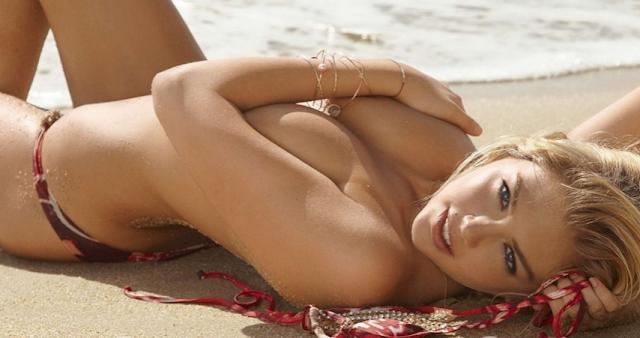 Кейт Аптон голая  paparazziru