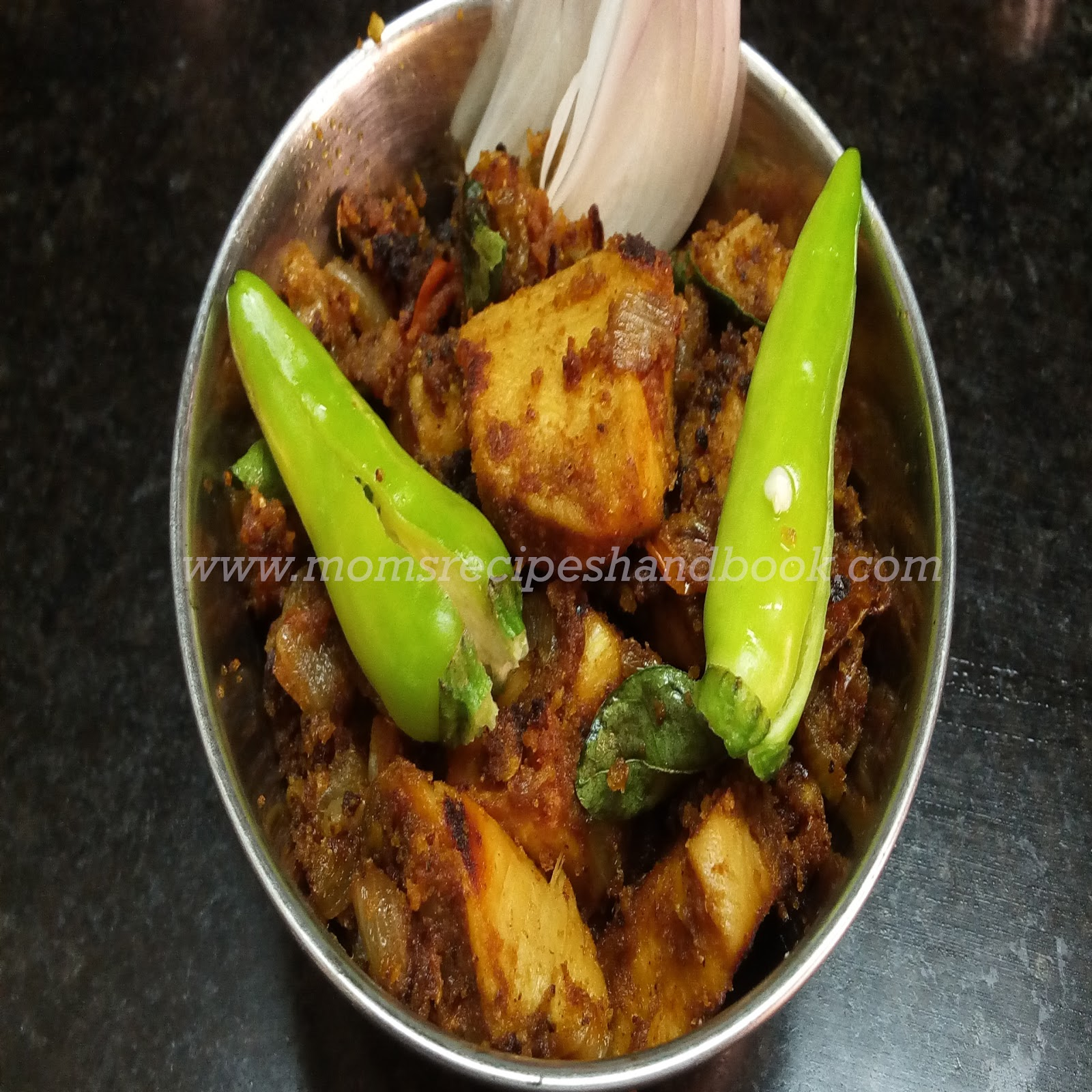 Chicken Fry Recipe How to Prepare Andhra Style ~ Mom's ...