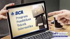 Beasiswa Non Gelar: Program Pendidikan Teknik Informatika BCA