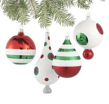 RETRO CHRISTMAS PARTY DECORATIONS