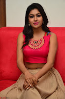 Akshita super cute Pink Choli at south indian thalis and filmy breakfast in Filmy Junction inaguration by Gopichand ~  Exclusive 089.JPG