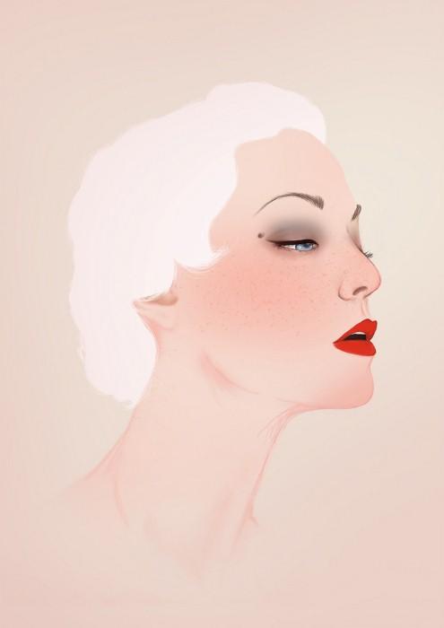 Рисунки в разных стилях от Peony Yip 11