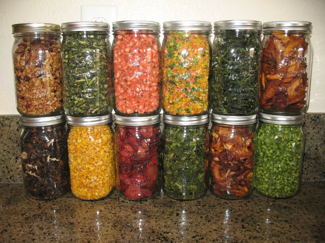 dehydrated vegetables - photo #11