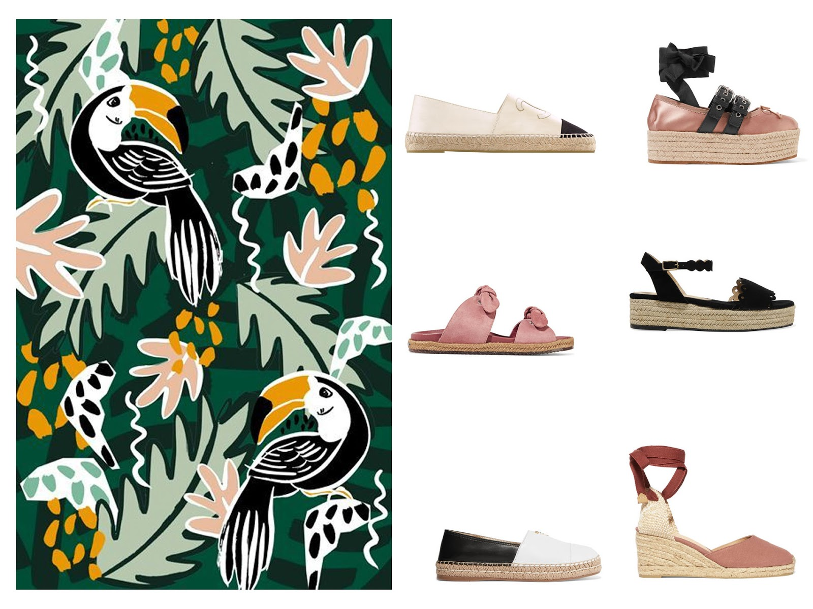 The Espadrille Edit || Summer 2017