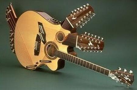 play fair have fun strange looking guitars. Black Bedroom Furniture Sets. Home Design Ideas