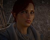 Inquisitrice elfe Lavellan