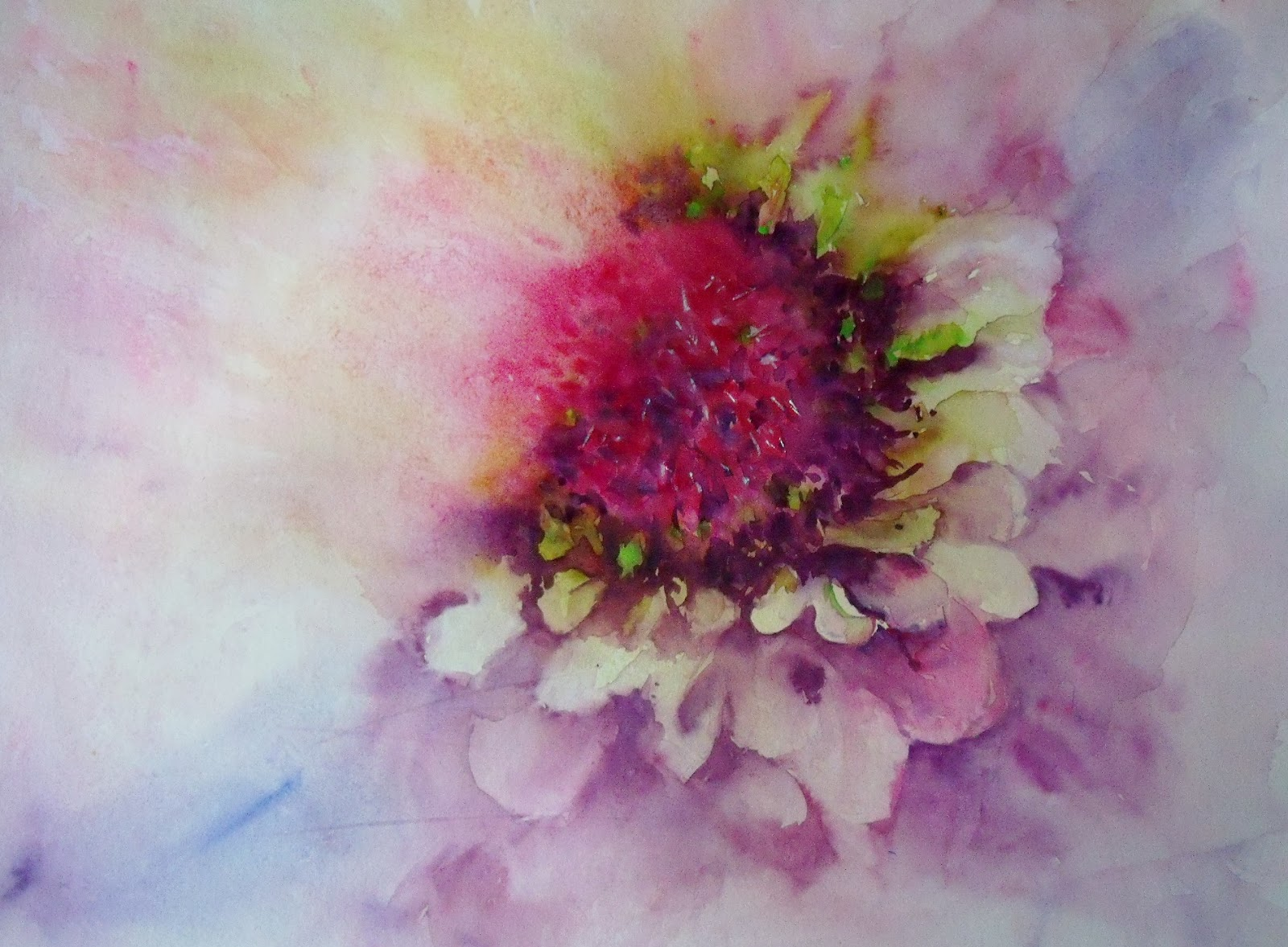 art by judith farnworth flower step by step loose watercolour