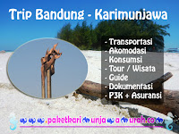 Jual Paket Wisata Bandung - Karimunjawa Jepara Jateng