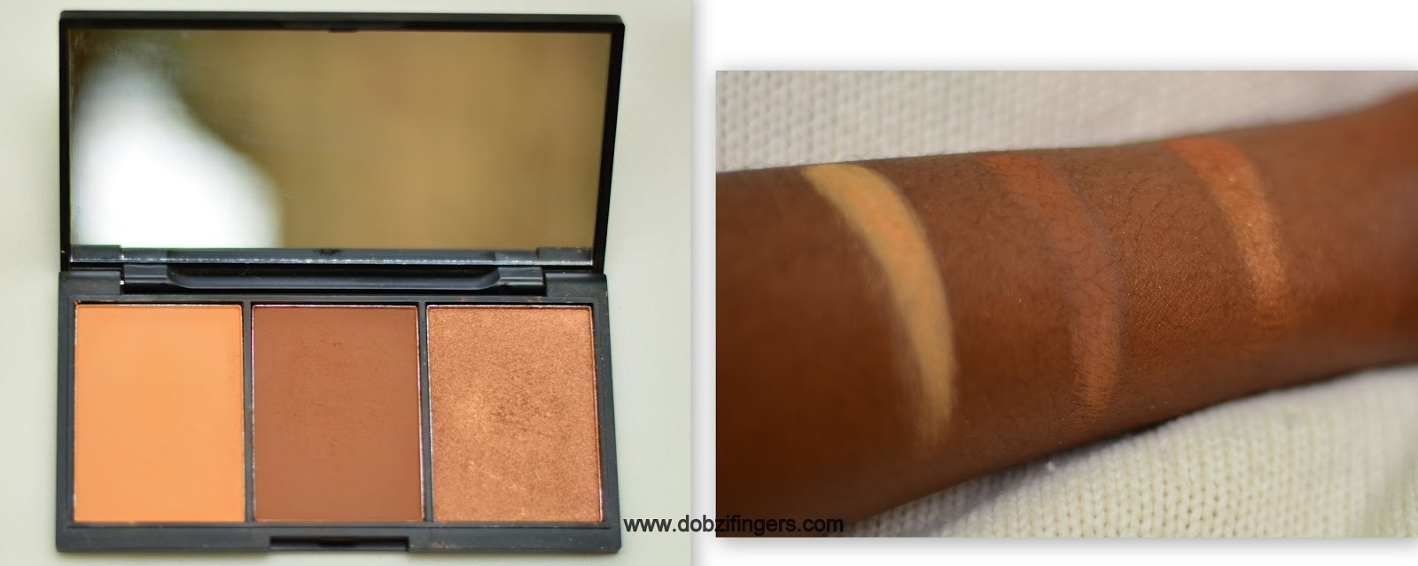 Zaron face definer palette review