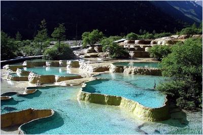 อุทยานแห่งชาติหวงหลง (Huanglong National Park)