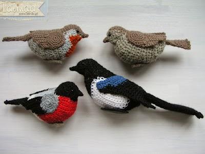 Como hacer Pajaros de Crochet rellenos