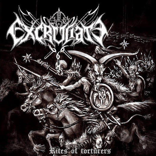 "EXCRUCIATE 666: ""Rites of Torturers"" with 8 tracks of Pure Hate, Devil Worship and War Metal!!"
