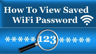 find saved wifi password android