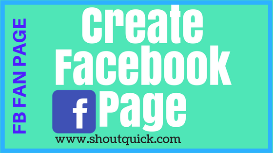 SIMPLEST WAY TO CREATE FACEBOOK PAGE
