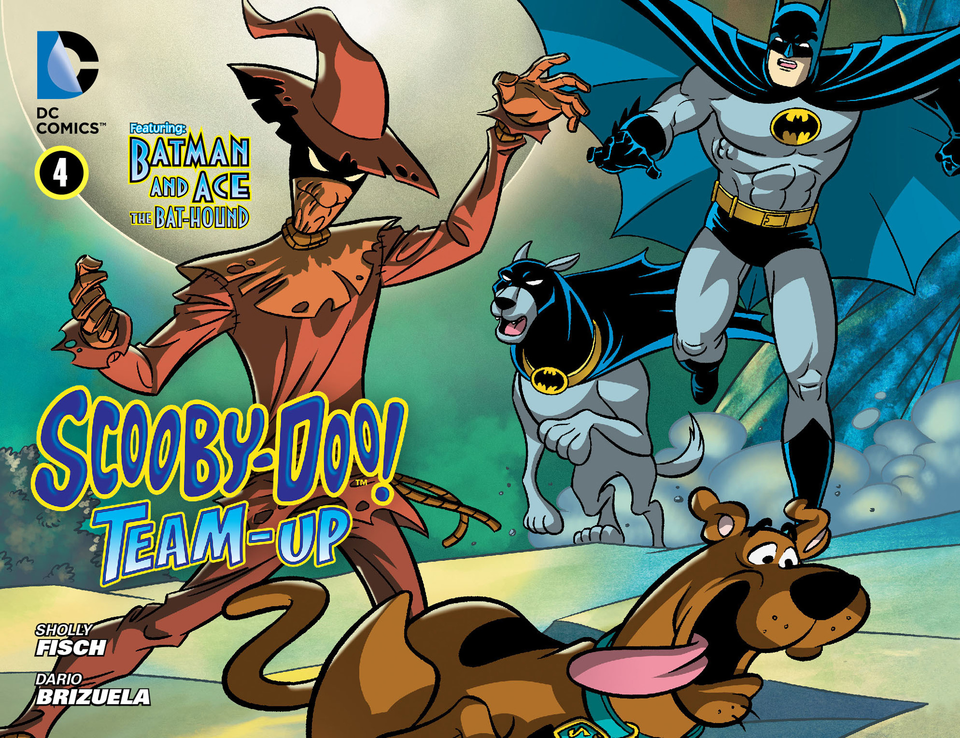 Read online Scooby-Doo! Team-Up comic -  Issue #4 - 1