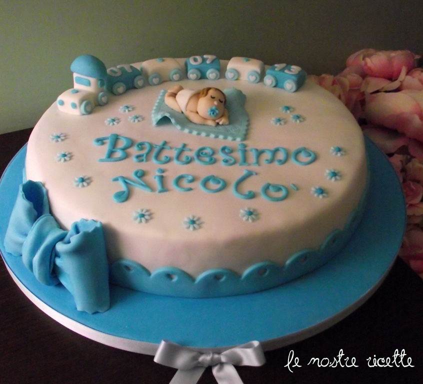 Favoloso Le nostre Ricette: Torta battesimo bimbo TK21