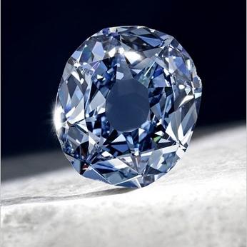 Gem stones: Wittelsbach-Graff Diamond