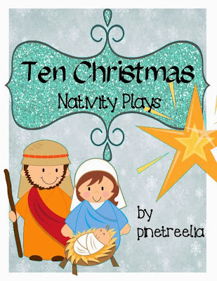 early beginning readers Christmas religion