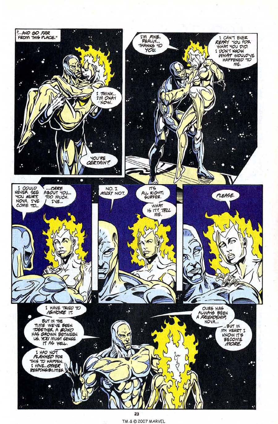 Read online Silver Surfer (1987) comic -  Issue #99 - 25