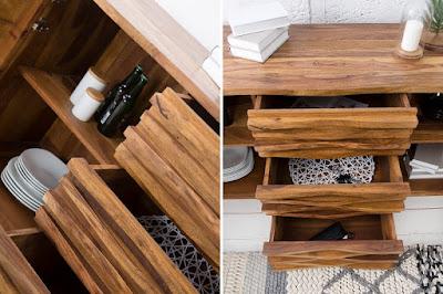 komody Reaction, nabytek ze dřeva, nábytek z masivního dřeva
