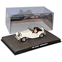 MG TC MP Lafer Replica Streng Geheim James Bond 007 1/43 Ixo Modell Auto