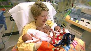 Hebat! Nenek ini Bisa Melahirkan Bayi Kembar 4 di Usia 65 Tahun!