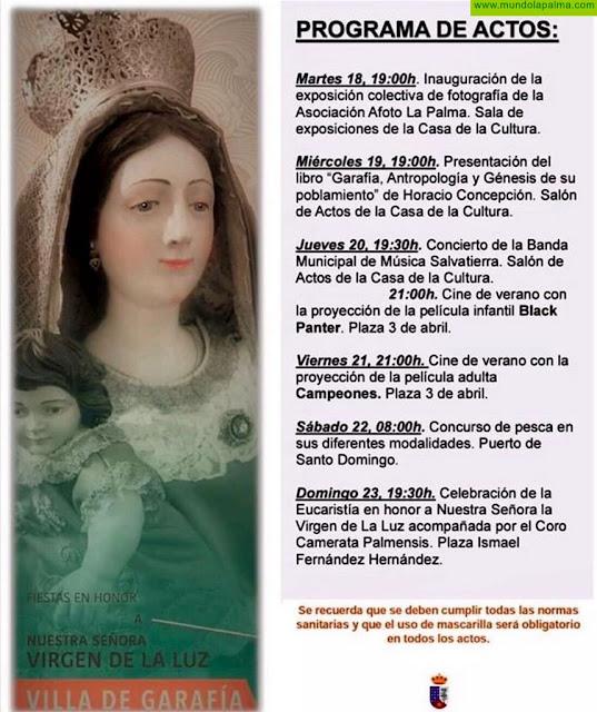 Las Fiestas de La Luz, en La Villa de Garafía